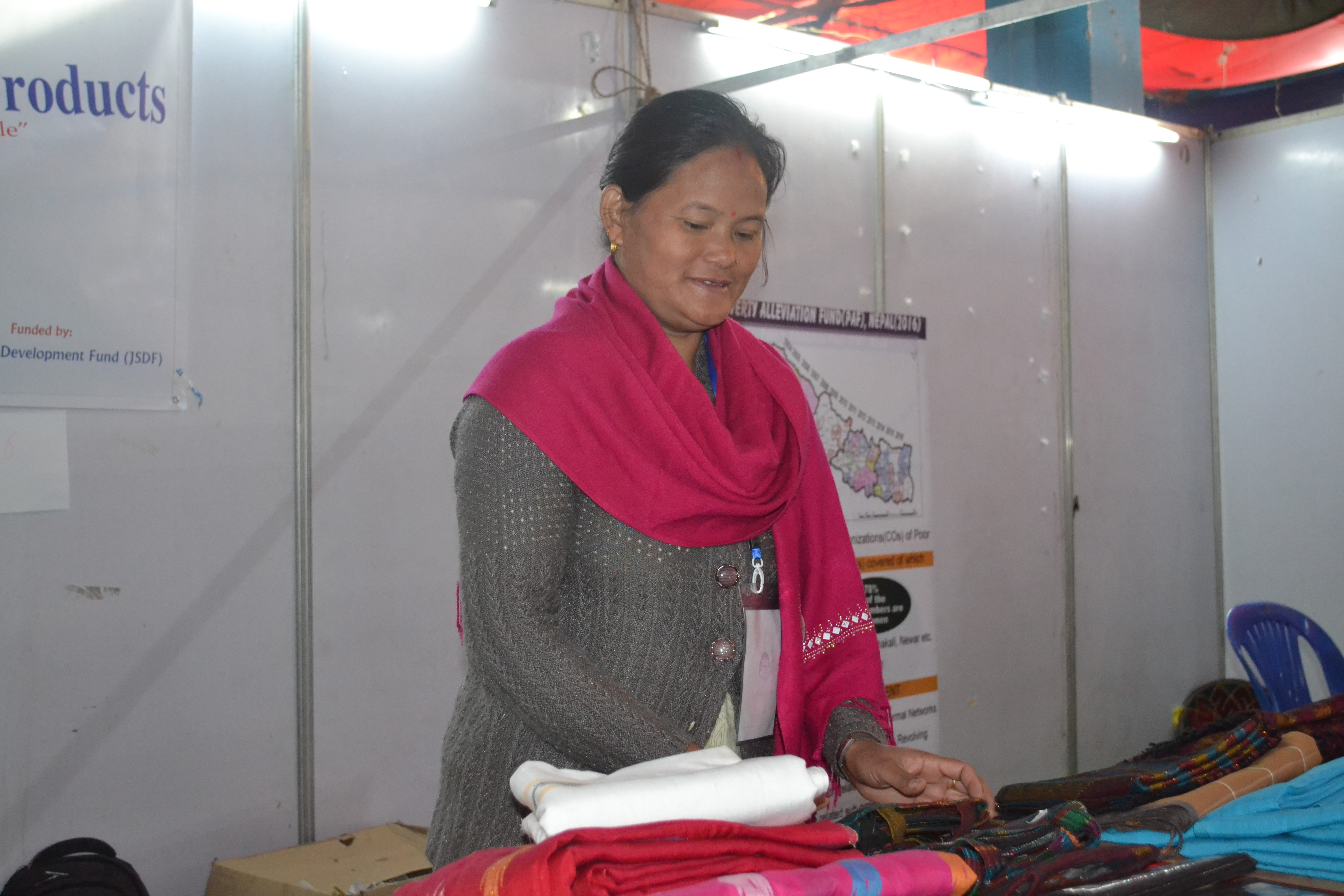 Market linkage of handicraft products lifts income level