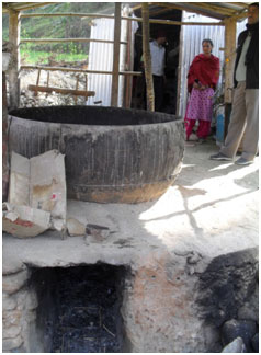 Soap factory set up in a remote village of Baitadi